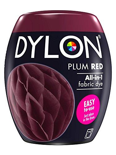 Dylon Maschine Dye Pod, Pflaume, 8.5 x 8.5 x 9.9 cm (Rotes Dip Dye)
