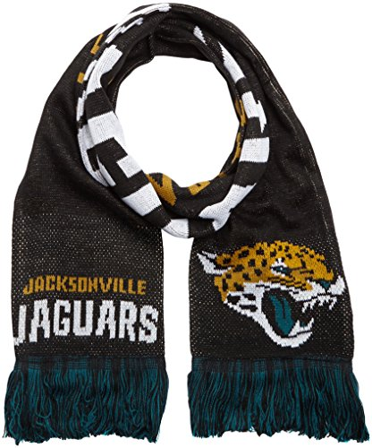 Forever Collectibles Schal NFL Jacksonville Jaguars Fanschal, Mehrfarbig, SVNF14WMJJAM