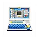 #5: Blossom English Learner Laptop Toy with 20 Activities for Learn & Play with Mouse Control (Battery Operated) for Kids, Multi Color