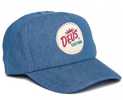 DEUS Palms Customs Trucker cap - Stonewash