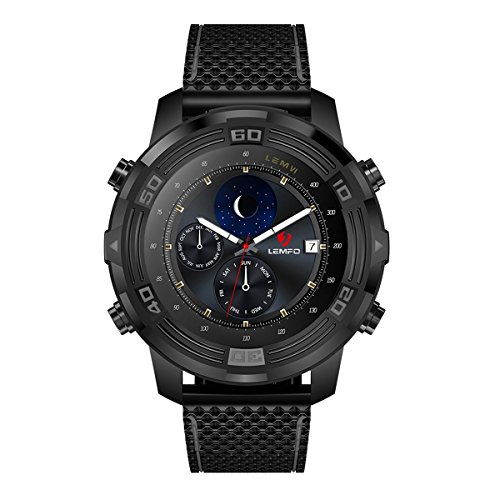 """514rNmS3JVL. SS500  - Android 5.1 Smart Watch Heart Rate Monitor with Pedometer 1.4""""OLED Screen GPS/WiFi/ IP67 Waterproof Smart Band,OOFAY WATCH®"""