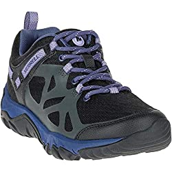 Merrell Outright Edge Womens Black Lavender Sneaker 5.5M
