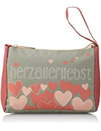 Adelheid - Herzallerliebst Täschlein, Mochilas Niñas, Pink (Altrosa), 10x16x21 cm (W x H D)
