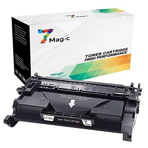 7Magic kompatibel HP 26A CF226A Toner Patronen für HP Laserjet Pro MFP M426DW M426FDW M402DNE M402DN M402D M402N Drucker (1 Schwarz - 3,100Seiten)
