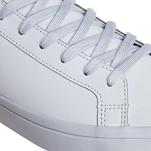Adidas Court Vantage Adicolour Damen Sneaker Weiß Hellblau / Grau