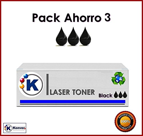 SPARSET 3 Toner kompatibel Brother HL para- hl-2310. 3 x Brother TN2010 kompatibel. (nicht Original). Versand aus Madrid. (