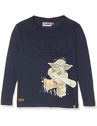 Lego Wear Lego Boy Star Wars Teo 154-T-Shirt L/S, Hauts à Manches Longues Garçon