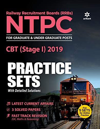 30 Practice Sets RRB NTPC CBT (Stage -1) Practice Sets