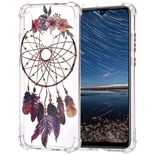 Für Huawei P Smart 2019 TPU-Hülle, Gemalter Druckstil Drop Resistance Staubdicht Anti-Rutsch Flexibel Transparente Silikon-Stoßfänger- Fälle Für Huawei P Smart 2019, Stil 3 - 3-stil-fall