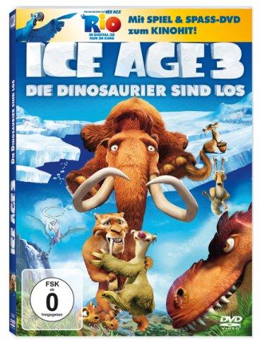 Ice Age 3 - Die Dinosaurier sind los (+ Rio Activity Disc) [2 DVDs]