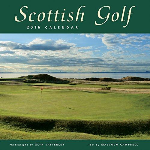 Scottish Golf Wall Calendar by Colin Baxter Photography