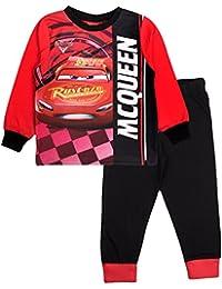 Disney Kid Boys Official Cars Lightning McQueen Long Pyjamas PJ's 2 Piece Set Size UK 1-8 Years