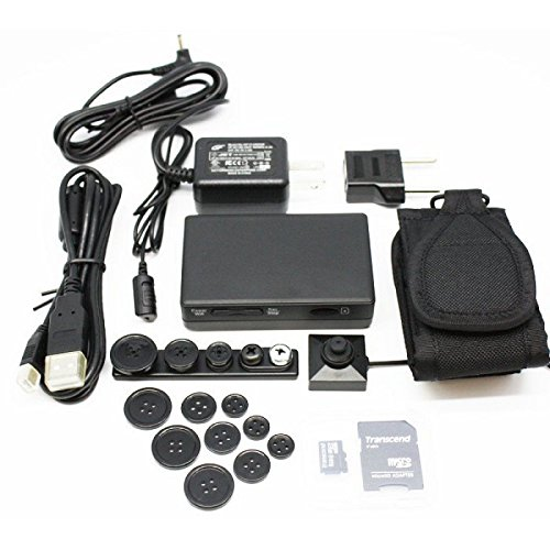 Kit-DVR-PV-500HDW-WIFI-60FPS-1080p-Cmara-de-botn-HD-2MP-BU-18HD-de-LawMate