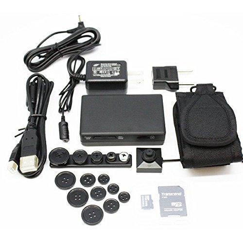 Kit-DVR-PV-500HDW-WIFI-60FPS-1080p-Cmara-de-botn-HD-2MP-BU-18HD-de-LawMate