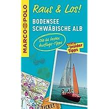 MARCO POLO Raus & Los! Bodensee, Schwäbische Alb: Guide und große Erlebnis-Karte in praktischer Schutzhülle