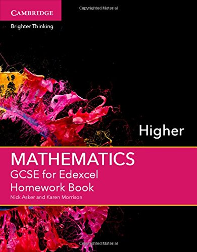 GCSE Mathematics for Edexcel Higher Homework Book (GCSE Mathematics Edexcel)
