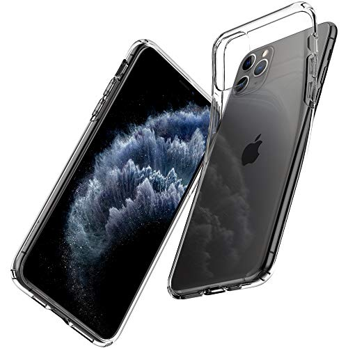 Spigen Liquid Crystal Funda diseñado para Apple iPhone 11 Pro MAX (6.5') (2019) - Transparente