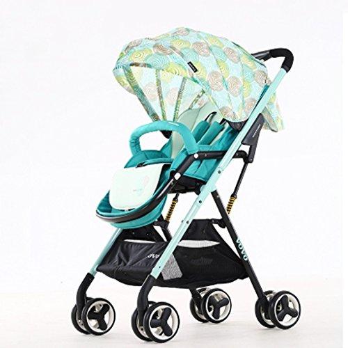 Kinderwagen Baby Buggy High Landschaft Schirm Ultraleichte Baby Kinderwagen sitzen kann Baby Trolley
