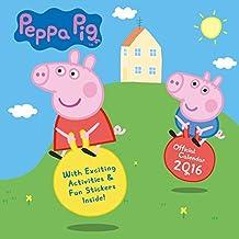 The Official Peppa Pig 2016 Square Calendar (Calendar 2016)