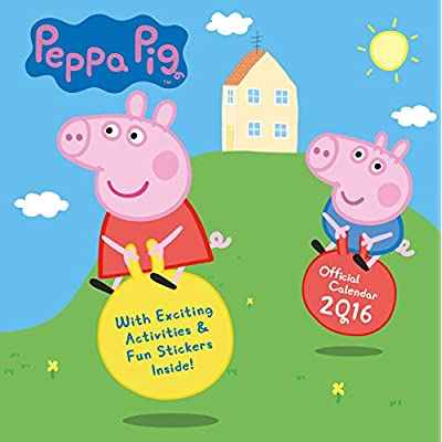 The Official Peppa Pig 2016 Square Calendar Calendar 2016 Pdf