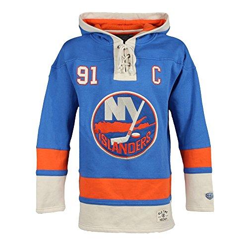 Old Time OTH New York Islanders John Tavares Lacer Jersey Hoodie NHL Sweatshirt S (New York Islanders Hoodie)