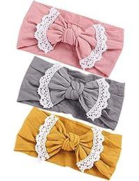 Baby Nylon Headbands Girl Hairbands Hair Bow Elastics for Baby Girls Newborn Infant Toddlers Kids