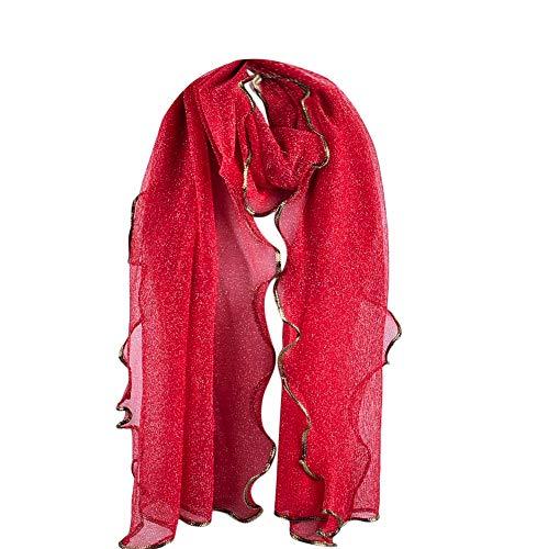 ABsoar Schals Damen Mode Frauen Lange feste SchalMesh Weicher Schal Halsschmuck Pashminas Umschlagtücher Kopftücher Loop Schal Festliche Stola