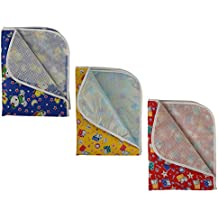 Dream Baby Cotton Plastic Sheet (Pack of 3)