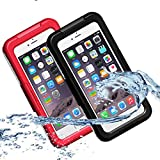 Die besten Iphone 6 Plus Fall Waterproofs - Jasnylfall Wasserdicht Durable Dirt Snow Proof Fall Deckung Bewertungen