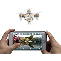Price comparsion for Cheerson CX-10W 4CH 2.4GHz 6 Axis Gyro iOS / Android APP Wifi Romote Control RC FPV Real Time Video Mini Quadcopter Helicopter Drone with 0.3MP HD Camera