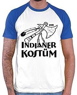 HARIZ Herren Baseball Shirt Indianer Kostüm Karneval Kostüm Plus Geschenkkarten White/Royal Blue S (B07MG7FW57) | Amazon price tracker / tracking, Amazon price history charts, Amazon price watches, Amazon price drop alerts