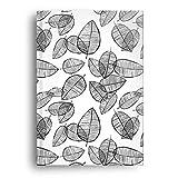 CherryCards 112 Seiten (56 Blatt) 100 g/m2 Naturpapier Kladde Notizbuch Tagebuch Skizzenbuch (A4 - Liniert)