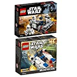 Lego Star Wars 2er Set 75160 75166 U-Wing Microfighter + First Order Transport Speeder
