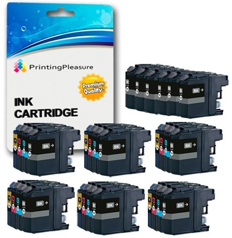 Best Price 30 XL (6 SETS + 6 BLACK) Compatible LC3219XL Ink Cartridges for Brother MFC-J5330DW MFC-J5335DW MFC-J5730DW MFC-J5930DW MFC-J6530DW MFC-J6930DW MFC-J6935DW – Black/Cyan/Magenta/Yellow, High Capacity (Black: 3,000 Pages & Cyan, Magenta, Yellow: 1,500 Pages) on Line