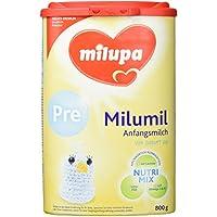 Milupa milumil Pre Anfangsmilch, von Geburt an, 4er Pack (4 x 800 g)