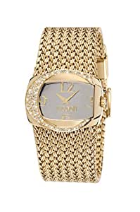 Just Cavalli Damen-Armbanduhr RICH Analog Quarz Edelstahl beschichtet R7253277515