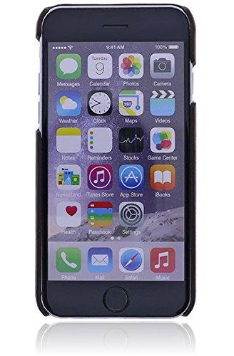 Bouletta - Jacket - Apple iPhone 6 / 6S Hülle | Leder Schutz-Hülle | Handyhülle | Ledertasche | Handytasche | Schutzhülle | Cover | Case | Hülle | Vintage / Retro Look (Petrol) Dunkel Braun