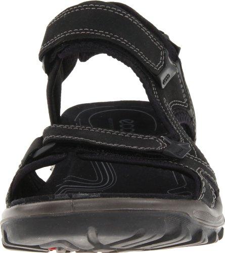 Ecco Offroad Lite, Chaussures Multisport Outdoor homme Noir (50608Black/Denim Blue)