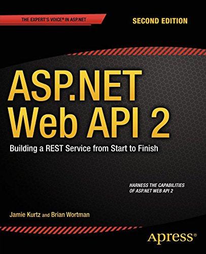 Google e-Books ASP.NET Web API 2: Building a REST Service from Start to Finish