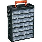 Alutec Kleinteilemagazin 56670 Abmessungen (L x B x H) 315 x 140 x 445 mm Material plástico