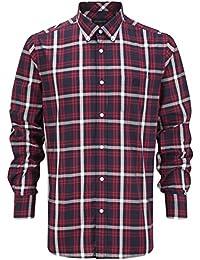 Henri Lloyd Aquila Regular Shirt Navy with Red Stripes Regular fit A22