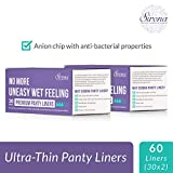 Sirona Anti bacterial Ultra Thin Panty Liners - 60 Pieces