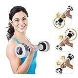 Hantel schütteln Ton Gewicht Kalorien Fitness Körperübung Arm Brust