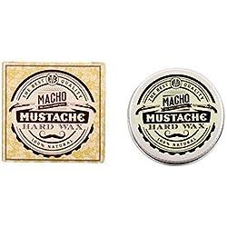 Macho Beard Company Cera de Fijación Fuerte para Bigote - 15 ml