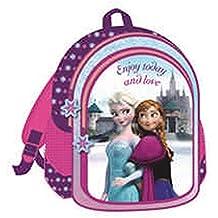 Disney Frozen Anna y Elsa - Mochila 43 x 32 x 18 cm - Colegio - Guardería - Deporte - Viaje