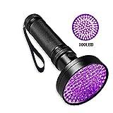 Slri Ultra Violet UV Flashlight 100LED Scorpion Light Torch Outdoor Lamp