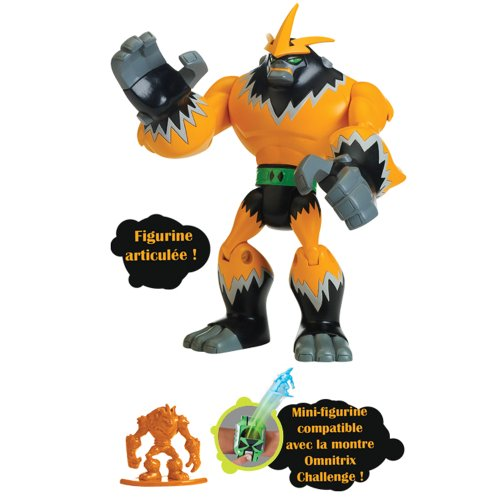 Image of Ben 10 Omniverse 10cm Alien Collection Figure Shocksquatch