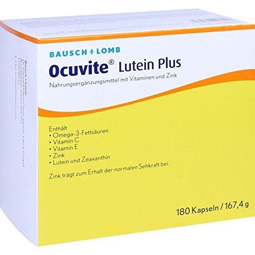 Ocuvite Lutein Plus Kapse 180 stk -