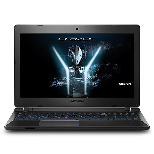 Medion ERAZER P6681 15.6-Inch Full HD Display Gaming Laptop - (Black) (Intel Core i5-7200U 2.5 GHz Processor, 8 GB RAM, 1 TB HDD, 2 GB GDDR5 NVIDIA GeForce GTX 1050, Windows 10 Home)
