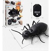 Morza Control Remoto Mock Cucaracha Falso Juguete de Halloween de la araña Hormiga Insectos Broma Broma